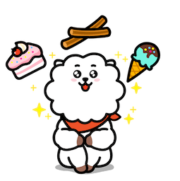 BT21 : Un charme fou Facebook sticker #13
