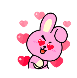 BT21 : Un charme fou Facebook sticker #14