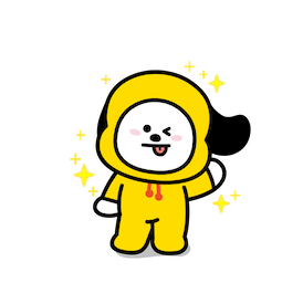 Sticker de Facebook / Messenger Todo el encanto de BT21 #20