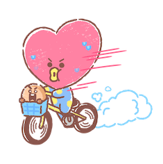 BT21 Best Friends Forever Facebook sticker #2