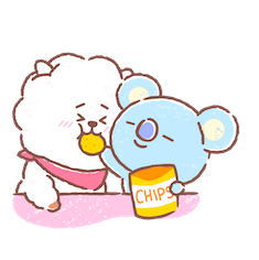 BT21 Best Friends Forever Facebook sticker #5