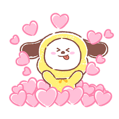 BT21 Best Friends Forever Facebook sticker #11