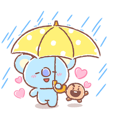 Amigos inseparables de BT21 Facebook sticker #13