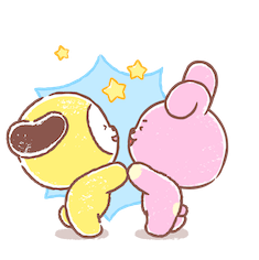 Amigos inseparables de BT21 Facebook sticker #17