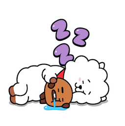 BT21 Love and Peace Facebook sticker #13