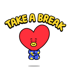 BT21 Love and Peace Facebook sticker #14