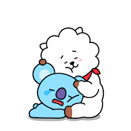 BT21 – Love und Peace Facebook sticker #18