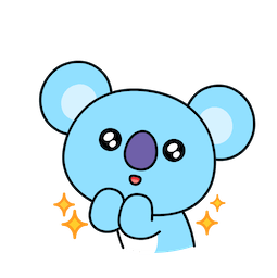 BT21 Love and Peace Facebook sticker #20
