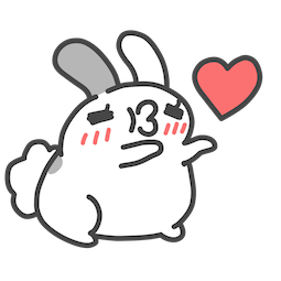 BugCat Capoo Facebook sticker #1