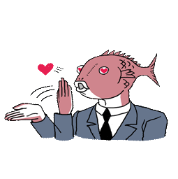 Business Fish Facebook sticker #2