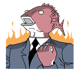 Business Fish Facebook sticker #4