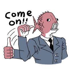 Business Fish Facebook sticker #5