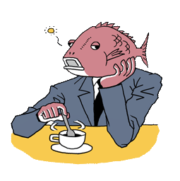 Business Fish Facebook sticker #9