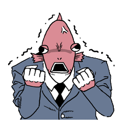 Business Fish Facebook sticker #14