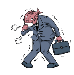 Business Fish Facebook sticker #16