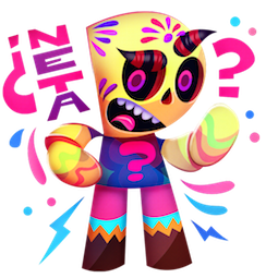 Calaveritas Facebook sticker #9