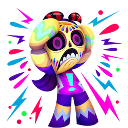 Calaveritas Facebook sticker #15