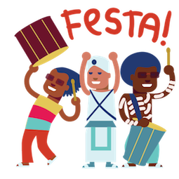 Carnaval Facebook sticker #8