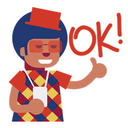 Carnaval Facebook sticker #11