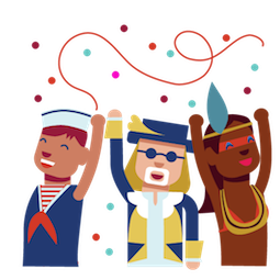 Karneval Facebook sticker #12