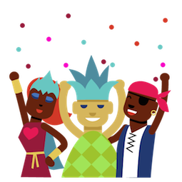 Facebook / Messenger sticker Karneval #14