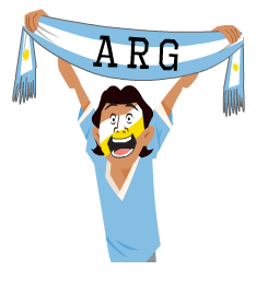 Copa100 Facebook sticker #2