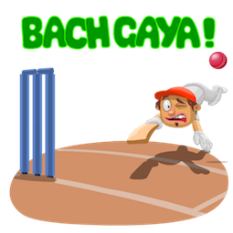 Cricket – Highlights zum Spiel Facebook sticker #11