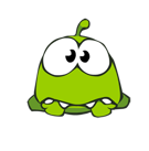Cut the Rope Facebook sticker #3
