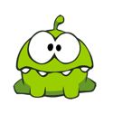 Cut the Rope Facebook sticker #5