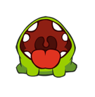 Cut the Rope Facebook sticker #6