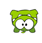 Cut the Rope Facebook sticker #8