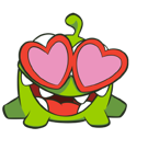 Cut the Rope Facebook sticker #9