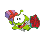 Cut the Rope Facebook sticker #16