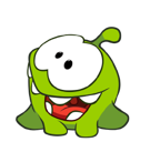 Cut the Rope Facebook sticker #18