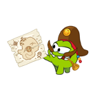 Cut the Rope Facebook sticker #19