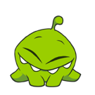 Cut the Rope Facebook sticker #22