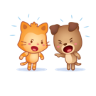 Cutie Pets Facebook sticker #7