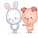 Cutie Pets Facebook sticker #8