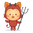 Cutie Pets Facebook sticker #9