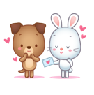 Cutie Pets Facebook sticker #10