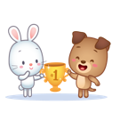 Cutie Pets Facebook sticker #14