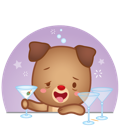 Cutie Pets Facebook sticker #17