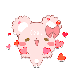 Facebook / Messenger Darling Sugar Cubs sticker #11
