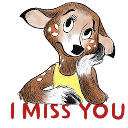 Dearest Deer Facebook sticker #4