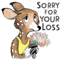 Dearest Deer Facebook sticker #6