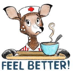 Dearest Deer Facebook sticker #10