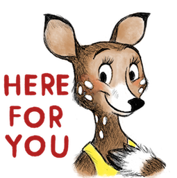 Dearest Deer Facebook sticker #18