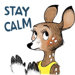 Dearest Deer Facebook sticker #20