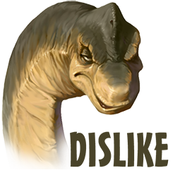 Facebook Downer Dinos stickers