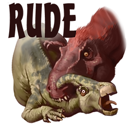 Downer Dinos Facebook sticker #8